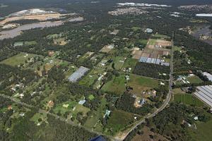 Pallara suburb and school  (centre right) 2009 Source: Pallara State School