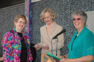Treasurer Angela Naumann / The Governor Ms Quentin Bryce / Photo judge Anne Russell        Source: Peter Hughson