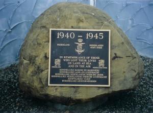 25 Dutch memorial stone Richlands